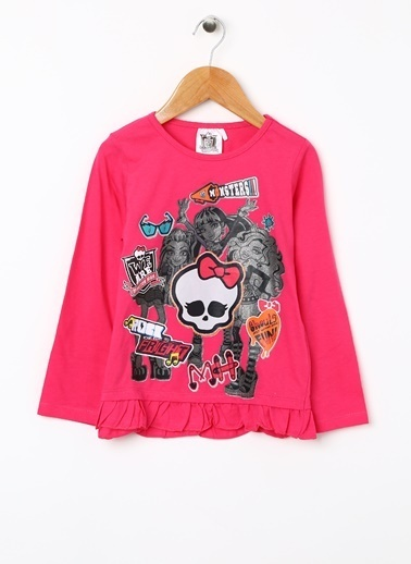 Monster High Tişört Fuşya